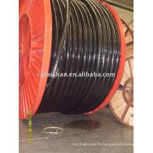 Огнеупорная медная изоляция из сшитого полиэтилена оболочка из ПВХ силовой кабель 3 * 300 мм2