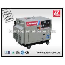 Бесшумный бензиновый генератор 5.0KW 50HZ 3000RPM