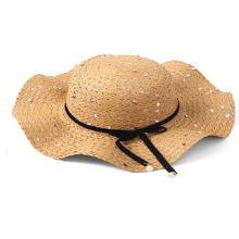 Audiciones 2020 sombrero de paja con paillette brillante