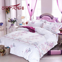 High Quality Hotel Bedding Linen Supplier 100 cotton print bedding sets