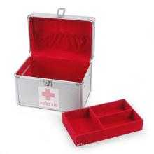 Caja médica de plata de aluminio (HX-W2939)