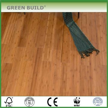 Vente chaude carbonisé solide brin bambou plancher de bois