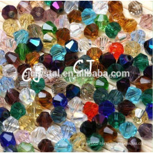 glass beads 5mm crystal bicone beads
