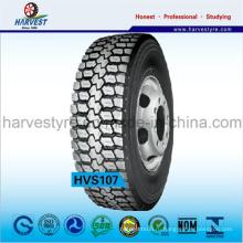 Бескамерные тяговые радиальные шины для грузовых автомобилей серии R22.5