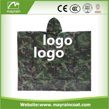 Hot Selling Cheap Custom Printed Rain Ponchos