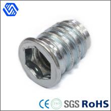 Carbon Stahl blau weiß verzinkt Lock Nut Senkkopf Sechskantmutter