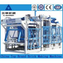 Máquina de fabricação de tijolos de solo de bloqueio de cinzas volantes no preço da Índia