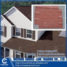 residential roofing colorful fiberglass reinforced asphalt shingle