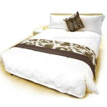 Juego de cama de lino 100% natural puro, ropa de cama Funda de edredón
