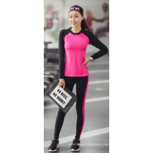 high spandex slimming sports yoga ninth pant