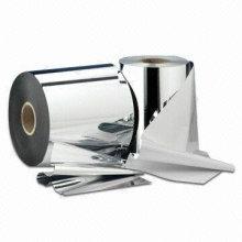 Алюминиевые этикетки с флаконами