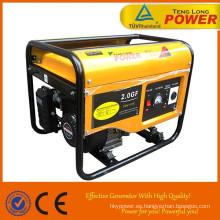 barato pequeño generador de 2 kva silenciosa