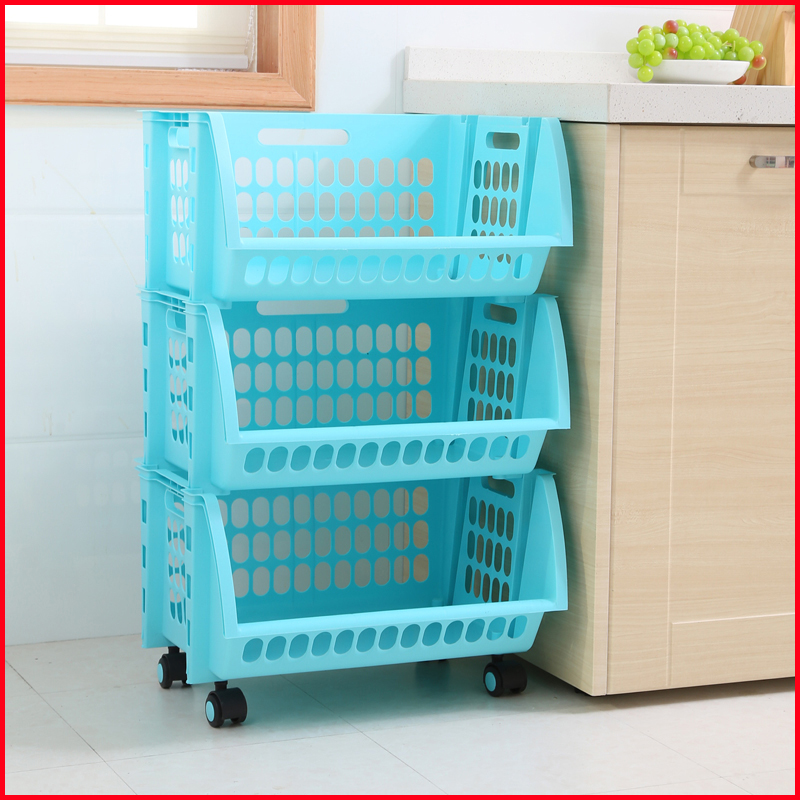 3 Tier Kitchen Vegetable Storage Rack