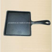 Форма для выпечки чугуна с квадратной формой