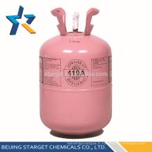 Prix compétitif gaz réfrigérant écologique r410a avec une pureté élevée 99,8%