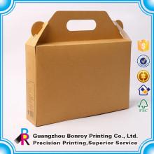 China Lieferant 6 Flasche Karton Wein 5 Liter Box Drucken