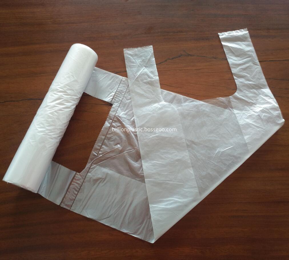 T Shirt Bag on Roll