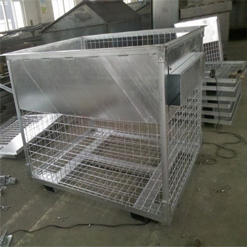 Floding Steel wire container
