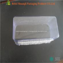 Plateaux de semis pépinière fleur en plastique transparent