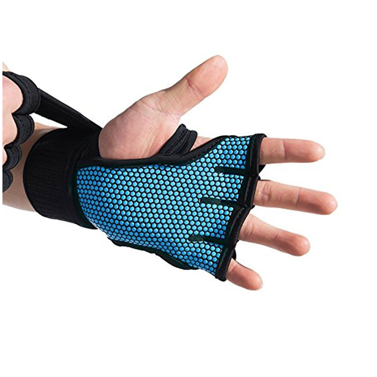 blue Dumbbell gloves
