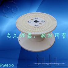 Alambre de plástico de 300 mm bobina el tambor vacío,