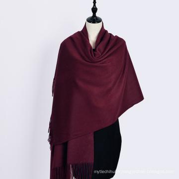 2017 hiver couleur unie foulard vert pashmina italien 100% cachemire