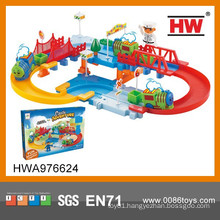 New Play Electronic Toys For Kids Railway Set