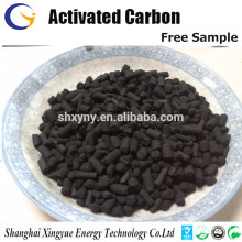 Bulk Extruded activated carbon pellets