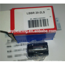 Rodamiento lineal de bolas LBBR 50-2LS