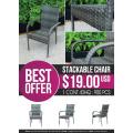 ATC Best Offer Chaise empilable en promotion mensuelle item