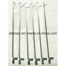 Agujas de 5 agujas para la máquina de hacer punto plana de la mano
