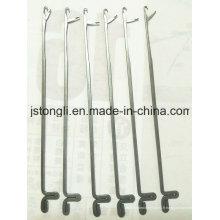 5 aiguilles de jauge pour machine à tricoter à la main