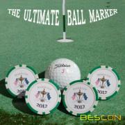 Tuỳ chỉnh in ấn giá rẻ Golf Ball đánh dấu