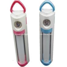 Lanterne de camping à LED à deux voies avec lampe de poche