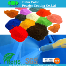 Electrostatic paint powder coating for car