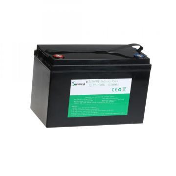 Batería de litio Lifepo4 de 12,8 V 100 Ah de energía solar