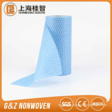 China made home use spunlace disposable nonwoven wave strip wipes