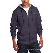 Полный-zip мужская Sofr оболочка флис Толстовка куртка