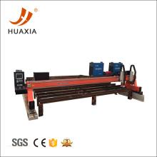 Cortadora de plasma de pórtico de placa de metal grande CNC