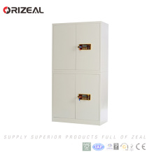 Orizeal Steel Office Furniture Four Door Electronic Lock Metal File Cabinet(OZ-OSC004)