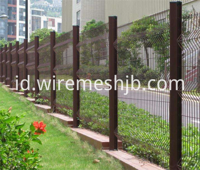 Green Color Fence