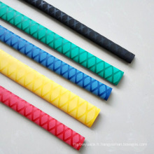 Douille de tuyau de rétrécissement de la chaleur de 30mm anti-dérapant pour le tuyau de poignée de whips LED d'enveloppe