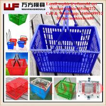 China Taizhou OEM Cheap Custom household plastic basket mould/ Good quality household plastic basket molding/household basket
