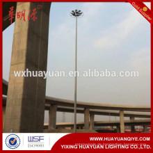 Quadrat, Viadukt oder Stadion mittel polygonalen hohen Mast Beleuchtung Pole Turm Preis von China Hersteller