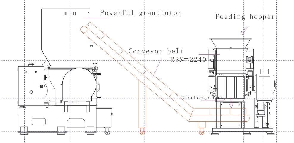 RSS shredder drawing