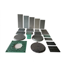 FRP Cover Manhole Square Anti-theft