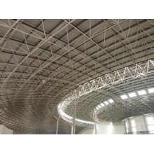 Structure de grille de cadre d'espace d'acier inoxydable