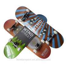 Высокое качество на заказ 9 слой клен полное скейтборд с низкой ценой