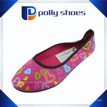 2016 Großhandelssegeltuch-Schuh-Dame-Art- und Weiseschuh