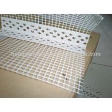 Perle faisante le coin de PVC avec la maille de fibre de verre